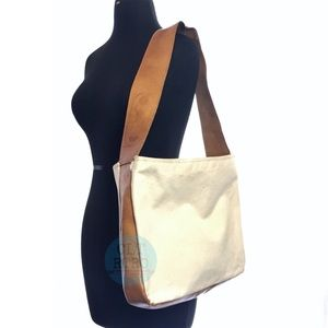 Leather & Jute Sack - Made in Poland